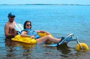 Коляски инвалидные для пляжа